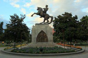 Samsun'daki Ataturk Heykeli